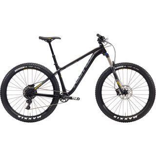 Kona Big Honzo 2018, black/gray/yellow - Mountainbike