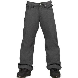Burton Boys Denim Pant, Black Wash - Snowboardhose