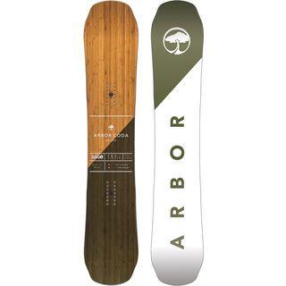 Arbor Coda Rocker Mid Wide 2017 - Snowboard