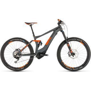 Cube Stereo Hybrid 140 TM 500 Kiox 27.5 2019, grey´n´orange - E-Bike