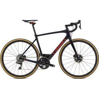 Specialized S-Works Roubaix Dura Ace Di2 2018, black/chameleon/red - Rennrad