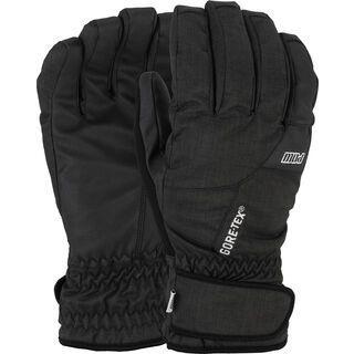POW Gloves Warner GTX Short Glove, black - Snowboardhandschuhe