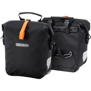 Ortlieb Gravel-Pack (Paar), black matt - Fahrradtasche