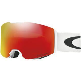 Oakley Fall Line Prizm, matte white/Lens: prizm torch iridium - Skibrille
