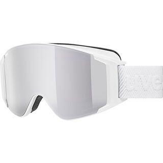 uvex g.gl 3000 TO + WS, white mat/Lens: mirror silver - Skibrille