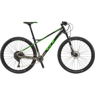 GT Zaskar Carbon Elite 2018, raw/gun/green - Mountainbike