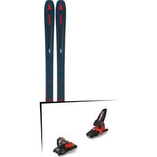 Set: Atomic Vantage 97 C 2019 + Marker Jester 18 Pro ID black/flo-red