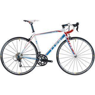 Cube Peloton Race 2014, white/blue/red - Rennrad