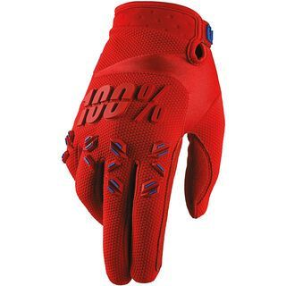 100% Airmatic, fire red - Fahrradhandschuhe