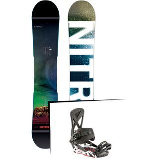 Set: Nitro Team Exposure Gullwing 2019 + Nitro Phantom Carver carver