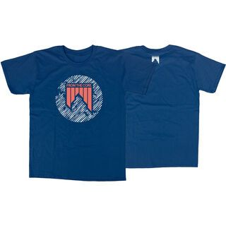 Shred Dashed, navy blue - T-Shirt