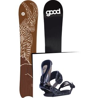 Set: goodboards Capra 2017 + Ride Revolt (1770162S)