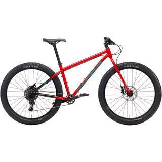 Kona Unit X 2018, red/black/green - Mountainbike