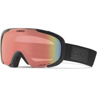 Giro Field, black quilted/Lens: vivid infrared - Skibrille