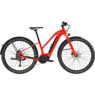 Cannondale Canvas Neo Remixte 2 2020, acid red - E-Bike