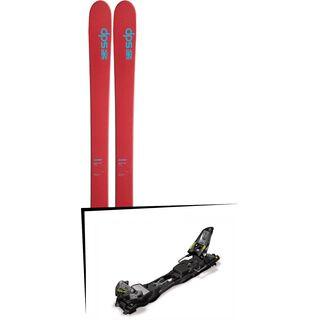 DPS Skis Set: Wailer 105 Hybrid T2 2016 + Marker F12 Tour EPF