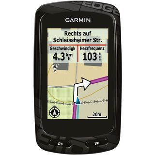 Garmin Edge 810 (Bundle mit Brustgurt + GSC10 Sensor + CityNavigator Europa) - GPS-Gerät