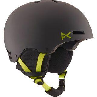 Anon Raider, black/green - Snowboardhelm