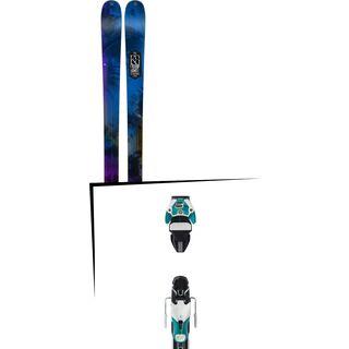 Set: K2 Sight 2016 + Atomic Warden 11 DT 90 mm, white/mint - Skiset