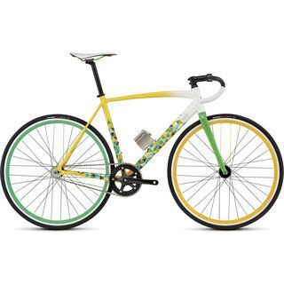 Specialized Langster Rio 2016, white/yellow/green - Rennrad