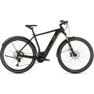 Cube Cross Hybrid Race Allroad 625 2020, black´n´green - E-Bike