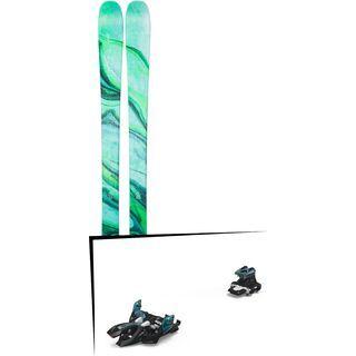 Set: Line Pandora 84 2019 + Marker Alpinist 9 black/turquoise