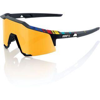 100% Speedcraft Tall, soft tact black p1/Lens: gold mirror - Sportbrille