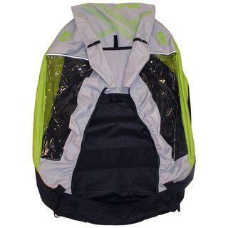 XLC Body für XLC Kinderanhänger Mono², silber/limone - Ersatzteil