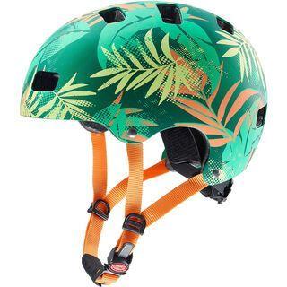 uvex kid 3 cc, green orange - Fahrradhelm