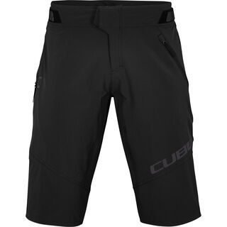 Cube Edge Baggy Shorts X Actionteam, black - Radhose