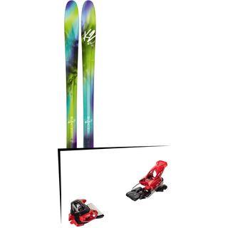 Set: K2 SKI FulLUVit 95Ti 2018 + Tyrolia Attack² 16 GW red