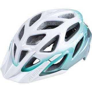 Alpina Mythos 3.0, white-smaragd - Fahrradhelm