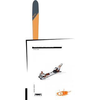 Set: DPS Skis Wailer 99 Tour1 2018 + Marker Duke 16 White/Copper
