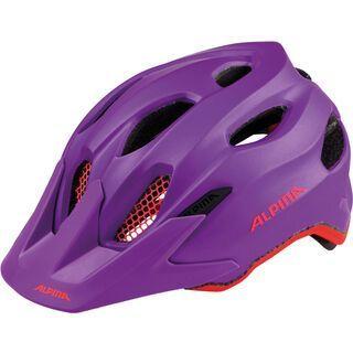 Alpina Carapax Jr., neon-red - Fahrradhelm