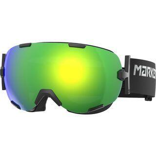 Marker Projector+, black/Lens: yellow plasma mirror - Skibrille