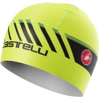 Castelli Arrivo 3 Thermo Skully, yellow fluo - Radmütze