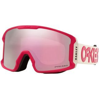 Oakley Line Miner XM Prizm Factory Pilot, rubine grey/Lens: hi pink iridium - Skibrille