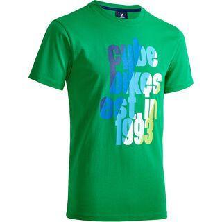 Cube T-Shirt Cube Multicolor green