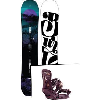 Set: Burton Feelgood Flying V 2019 +  Escapade EST (2218441S)