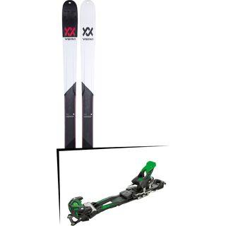 Set: Völkl BMT 90 2019 + Tyrolia Adrenalin 16 solid black flash green