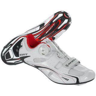 Scott Shoe Road Team Boa, white - Radschuhe