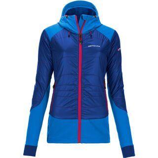 Ortovox Merino Swisswool Jacket Piz Palü, strong blue - Thermojacke