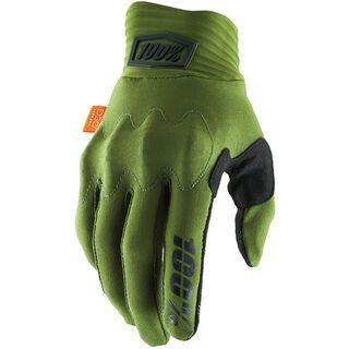 100% Cognito Glove army green / black