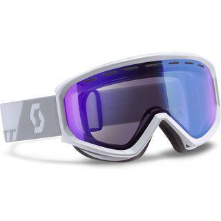 Scott Level, white/illimunator blue - Skibrille
