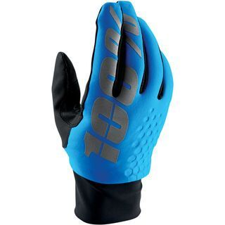 100% Hydromatic Brisker Glove, cyan - Fahrradhandschuhe