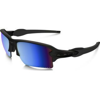 Oakley Flak 2.0 XL Prizm Deep Water Polarized, matte black - Sportbrille