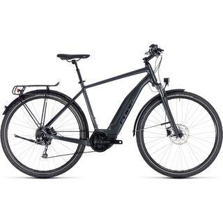 Cube Touring Hybrid ONE 400 2018, iridium´n´black - E-Bike