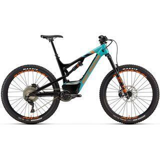 Rocky Mountain Altitude Powerplay Carbon 70 2019, turquoise/black/orange - E-Bike