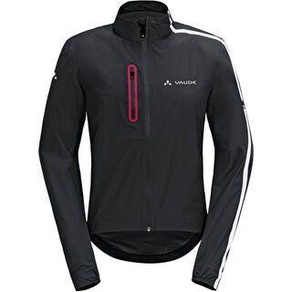 Vaude Mens Sky Fly Jacket, black/white - Radjacke