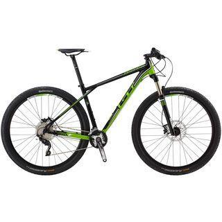 GT Zaskar 9R Elite 2014, black/green - Mountainbike
